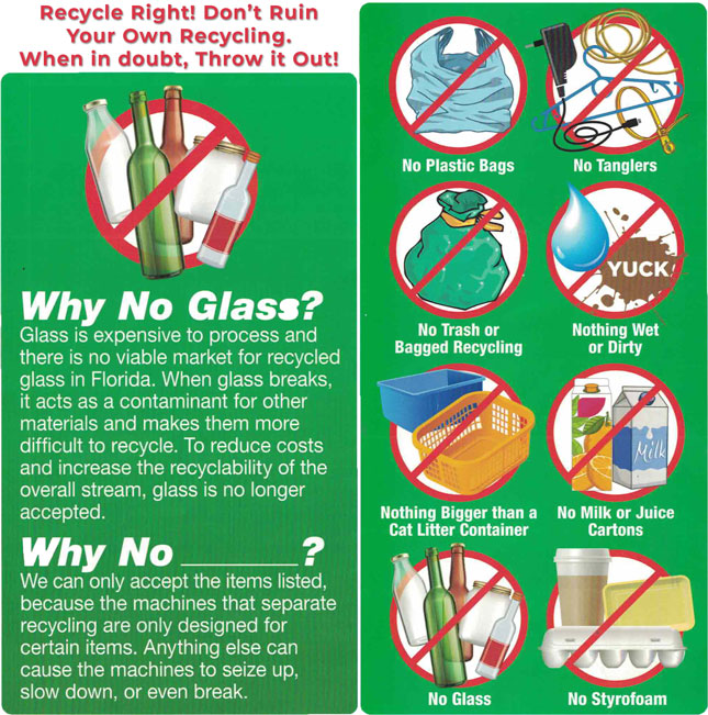 Pasco Recyclables County Sanitation And Recycling Services